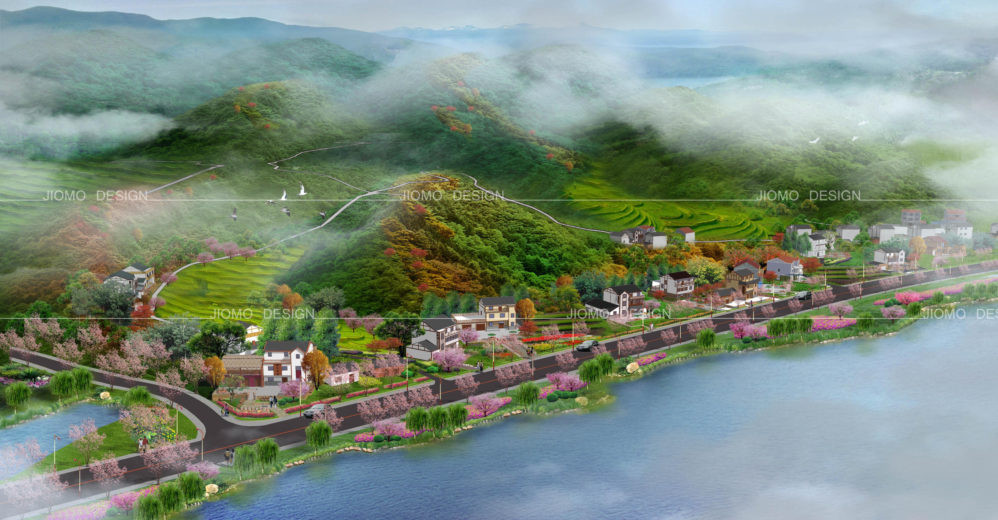 英山四季花海景观规划